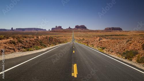Fototapeta Monument Valley Arizona Highway