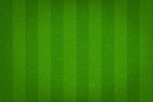 Green Grass Field Pattern For Sport Background. Grass Court For Soccer, Football, Rugby, Golf, Baseball. Vector.