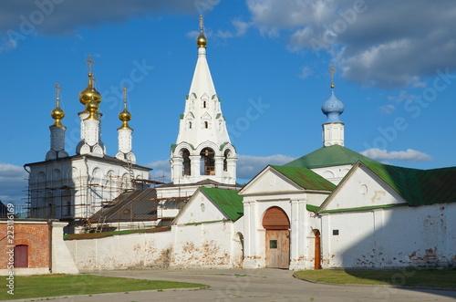 "Foto  Ryazan, Russia - August 17, 2018: Historical and architectural Museum-reserve ""Ryazan Kremlin"""