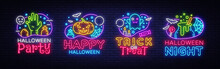Halloween Neon Sign Collection...