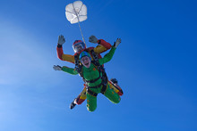 Skydiving. Tandem Jump.