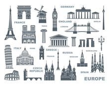 Collection Of Europe Detailed ...