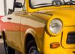 canvas print picture - DDR Oldtimer Trabant