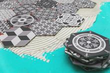 Flooring - Laying Vintage Style Hexagon Floor Tiles