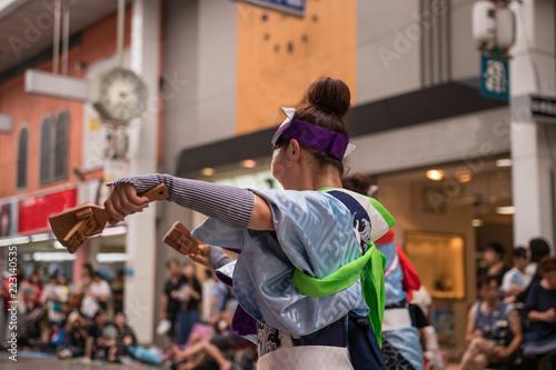 高知県のよさこい祭り - 223140535