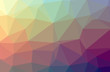 Illustration of red low poly elegant multicolor background.