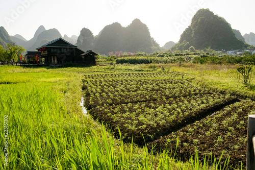 Guangxi guilin, yangshuo landscape