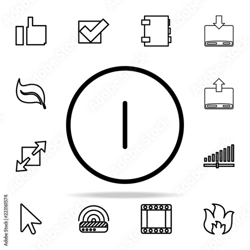 off sign icon. web icons universal set for web and mobile