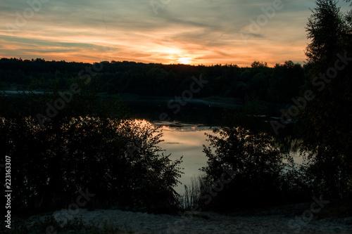 Sonnenaufgang am Oldenstädter See
