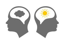 Head Icon For Bipolar Disorder