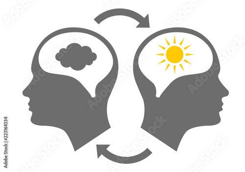 Photo Head icon for bipolar disorder