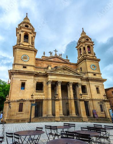 Obraz na plátně Kathedrale Santa Maria la Real de Pamplona