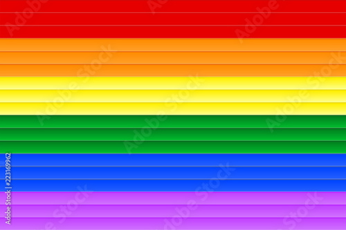 Cardboard Textured Background Of Gradient Rainbow Colored Stripes