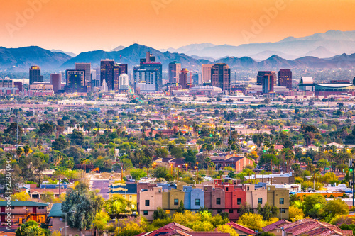 Canvas Prints Arizona Phoenix, Arizona, USA Cityscape