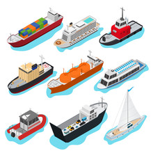 Commercial Sea Ships Signs 3d ...