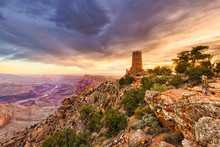Desert View Watchtower On The ...