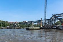 Spuyten Duyvil Bridge Over The Harlem River, Manhattan, NYC