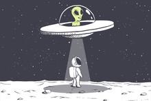 An Alien Abducts An Astronaut ...