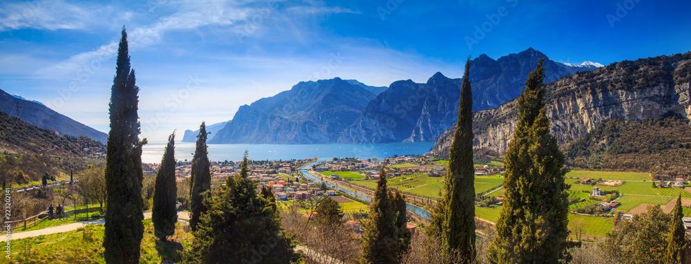 Fototapety, obrazy: Gardasee, Italien