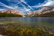 canvas print picture Tenaya Lake Yosemite National Park
