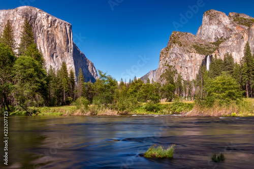 Photo  Yosemite Valley View