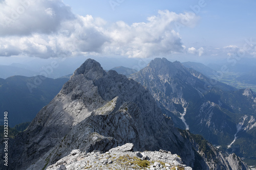Festkogel and Odstein seen from the summit of Hochtor, Gesause National Park, Austria