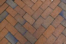 Diagonal Herringbone Brick Pat...
