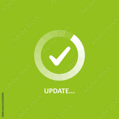 Fotografía  Update vector icon
