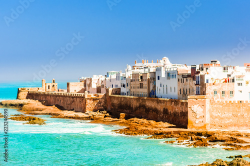 Canvas Prints Morocco View on old city of Essaouira in Morocco