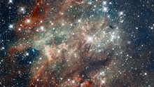 Travel To Tarantula Nebula Also Know 30 Doradus Star Nursery In Outer Space With Flying Star Field. Contains Public Domain Image By NASA