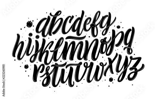 Valokuva  Graffiti font