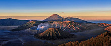 Scenic View Of Volcano At Bromo Tengger Semeru National Park