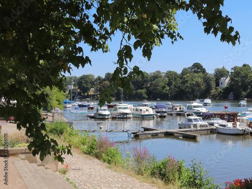 Cadres-photo bureau Port Pays de la Loire - Loire-Atlantique - Sucé-sur-Erdre - Le Port de plaisance