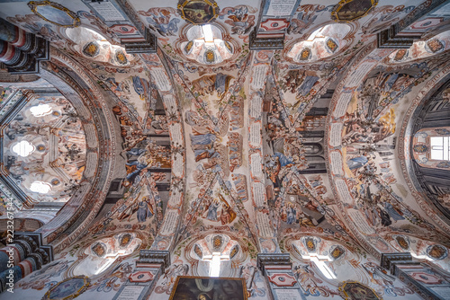 Beautiful interior of the Sanctuary of Atotonilco in Guanajuato, Mexico Fototapete