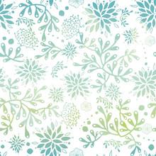 Blue Green Nautical Seaweed Se...
