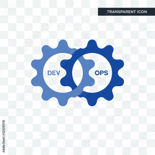 Devops Vector Icon Isolated On Transparent Background Devops Logo Design Buy This Stock Vector And Explore Similar Vectors At Adobe Stock Adobe Stock