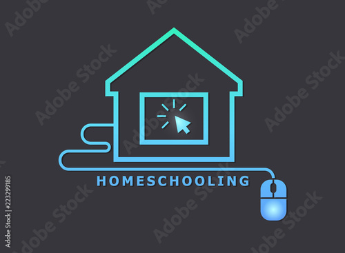 Homeschooling Canvas-taulu