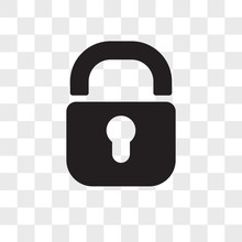 Padlock Vector Icon Isolated O...