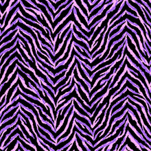 Neon Purple And Pink Zebra Fur...