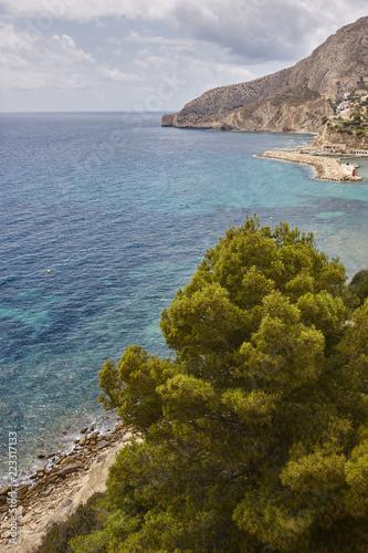 Foto  Spanish mediterranean coastline in Alicante, Valencia