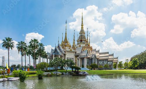 Wat Nong Kum in natural light, Mittraphap Road, Sikhiu, Nakhon Ratchasima, Thailand, May 20, 2018