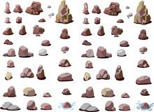 岩石の背景素材