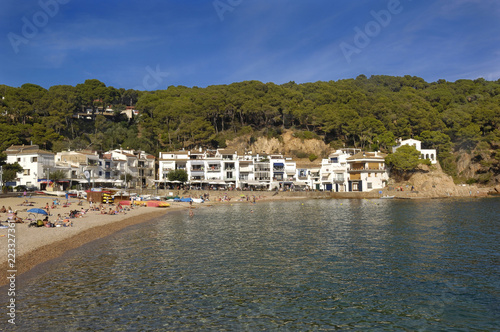 Tamariu beach, Palafrugell,Costa Brava, Girona, Catalonia,Spain