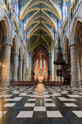 Photo  Beautiful view of the interior of the St