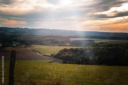 Fotografia  Toscana der Eifel im Sommer bei sonnenschein