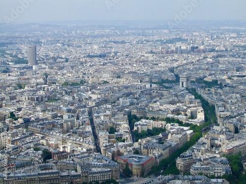 Staande foto Parijs パリ空撮