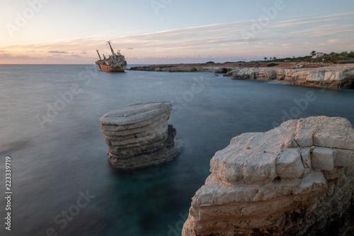 Foto op Canvas Cyprus Cyprus sunset