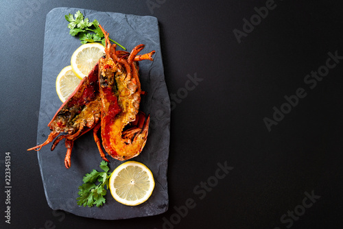 Stampa su Tela grilled lobster steak