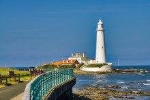 A View Of St Mary's Lighthouse...