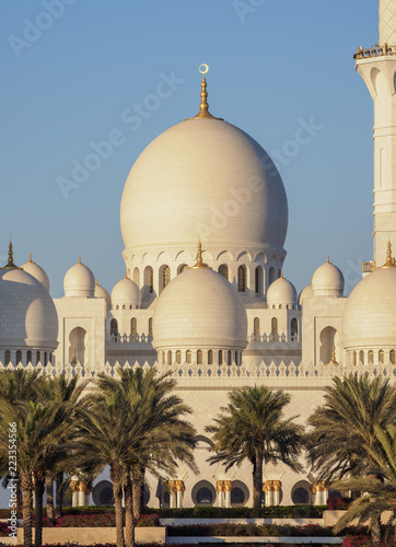 Sheikh Zayed bin Sultan Al Nahyan Grand Mosque, Abu Dhabi, United Arab Emirates